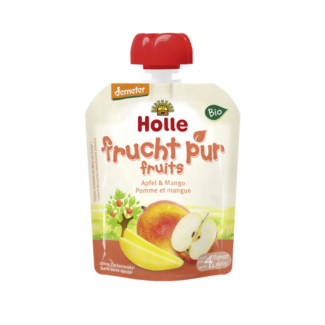 Holle Organic Purée of Apple and Mango (90g)