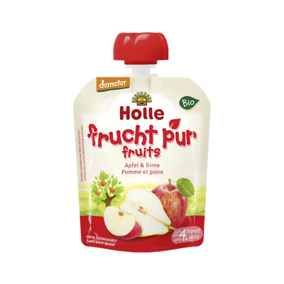 Holle Organic Purée of Apple and Pear (90g)