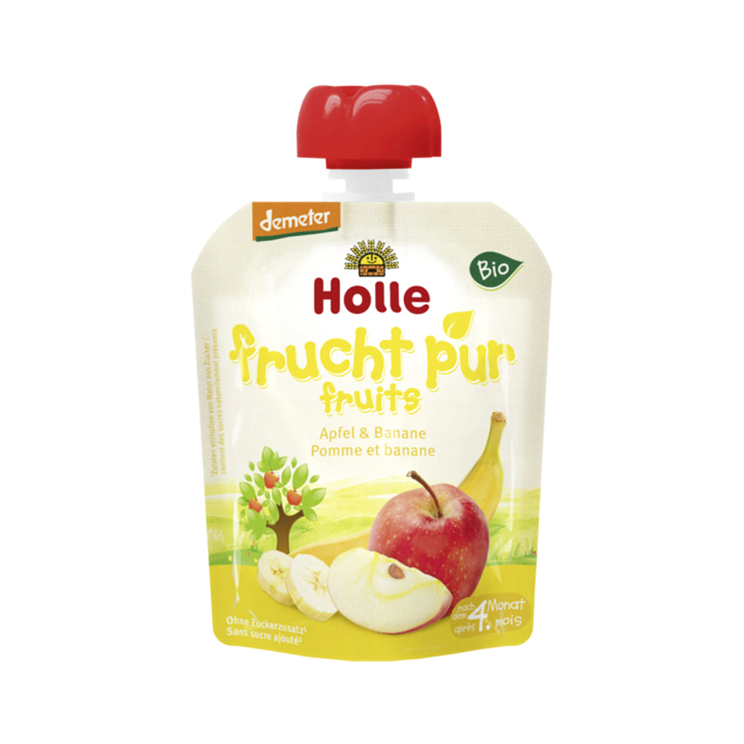 Holle Organic Purée of Banana and Apple (90g)	 $2.99
