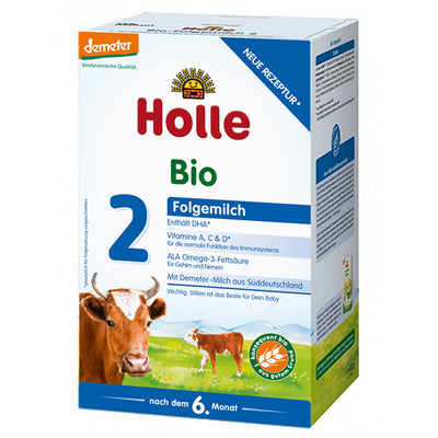 Holle Cow Milk Stage 2 Organic Follow-On Formula + DHA (600g)