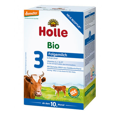 Holle Cow Milk Stage 3 Organic Follow-On Formula + DHA (600g)
