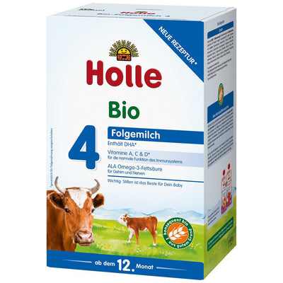 Holle Cow Milk Stage 4 Organic Toddler Milk + DHA (600g)