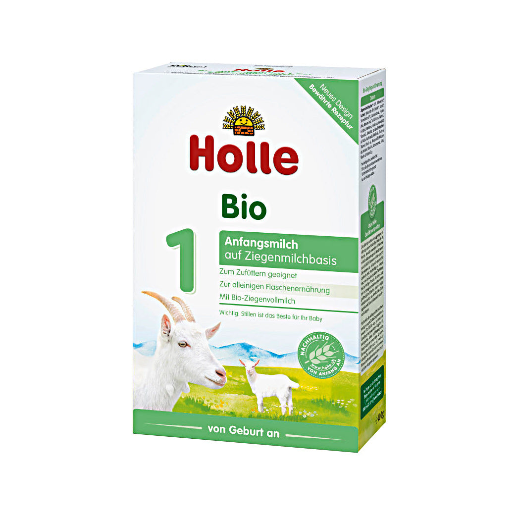 Holle Goat Stage 1 Organic Infant Milk Formula (400g)
