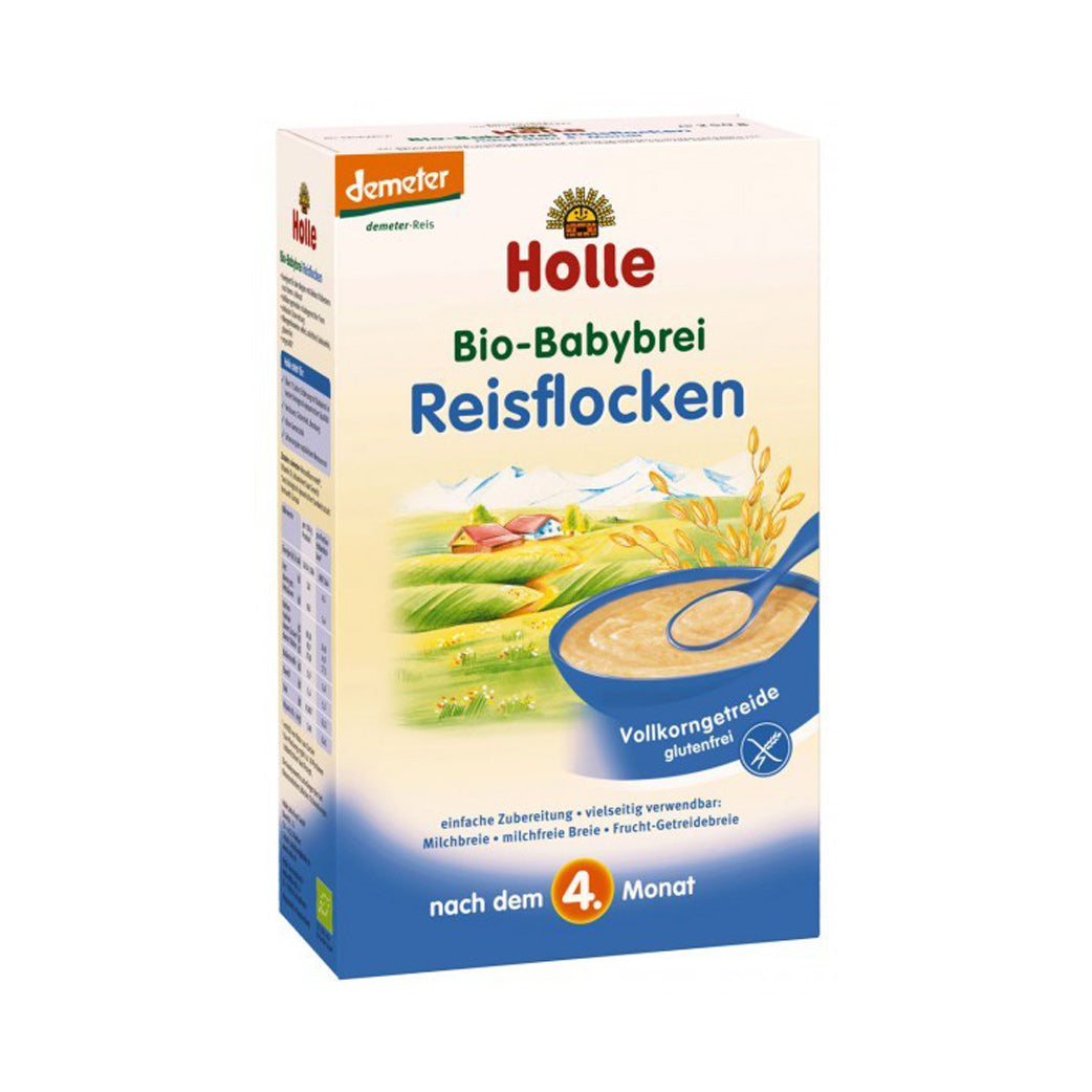 Holle Rice Flakes (Reisflocken) Organic Porridge (250g)