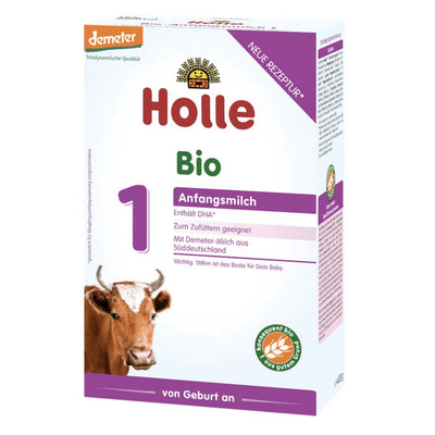 Holle Cow Milk Stage 1 Organic Formula + DHA (400g)