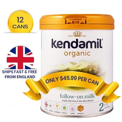 Kendamil Stage 2 (6-12 Months) Organic Follow-On Formula (800g)