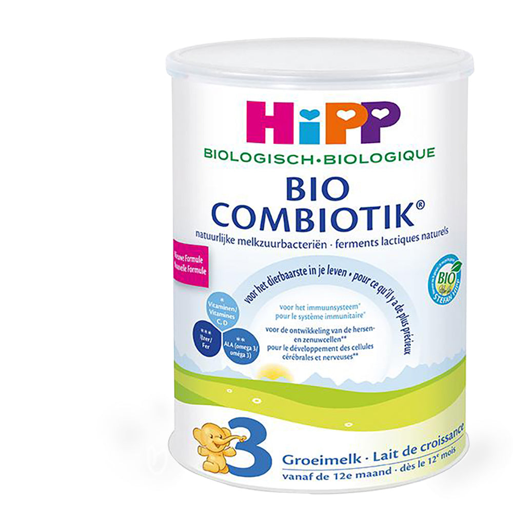 HiPP Stage 3 Organic Toddler Milk 12+ Months (800g) - Dutch