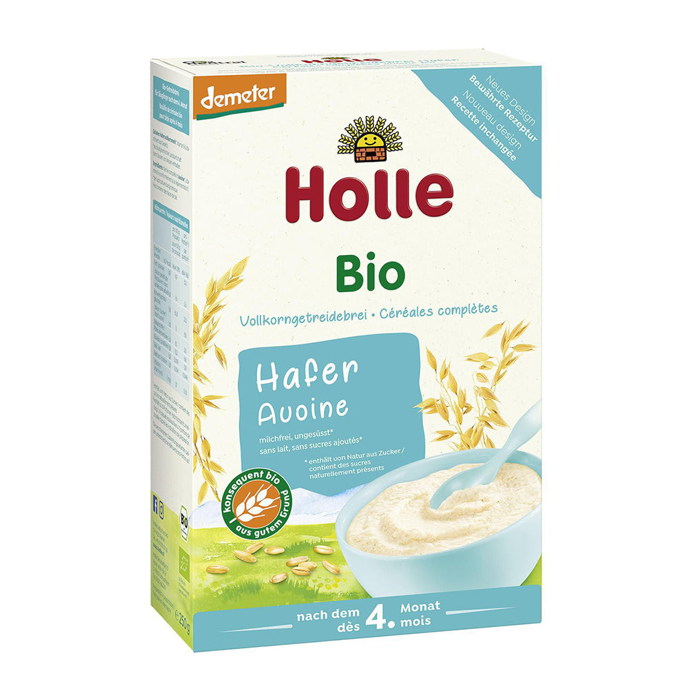 Holle Oatmeal (Haferflocken) Organic Porridge Cereal (250g)