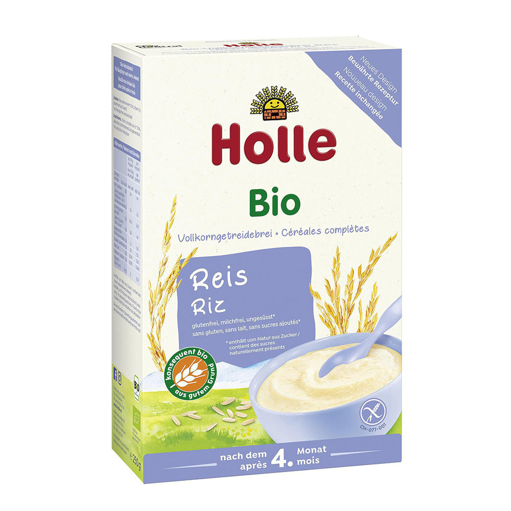 Holle Rice Flakes (Reisflocken) Organic Porridge (250g) New