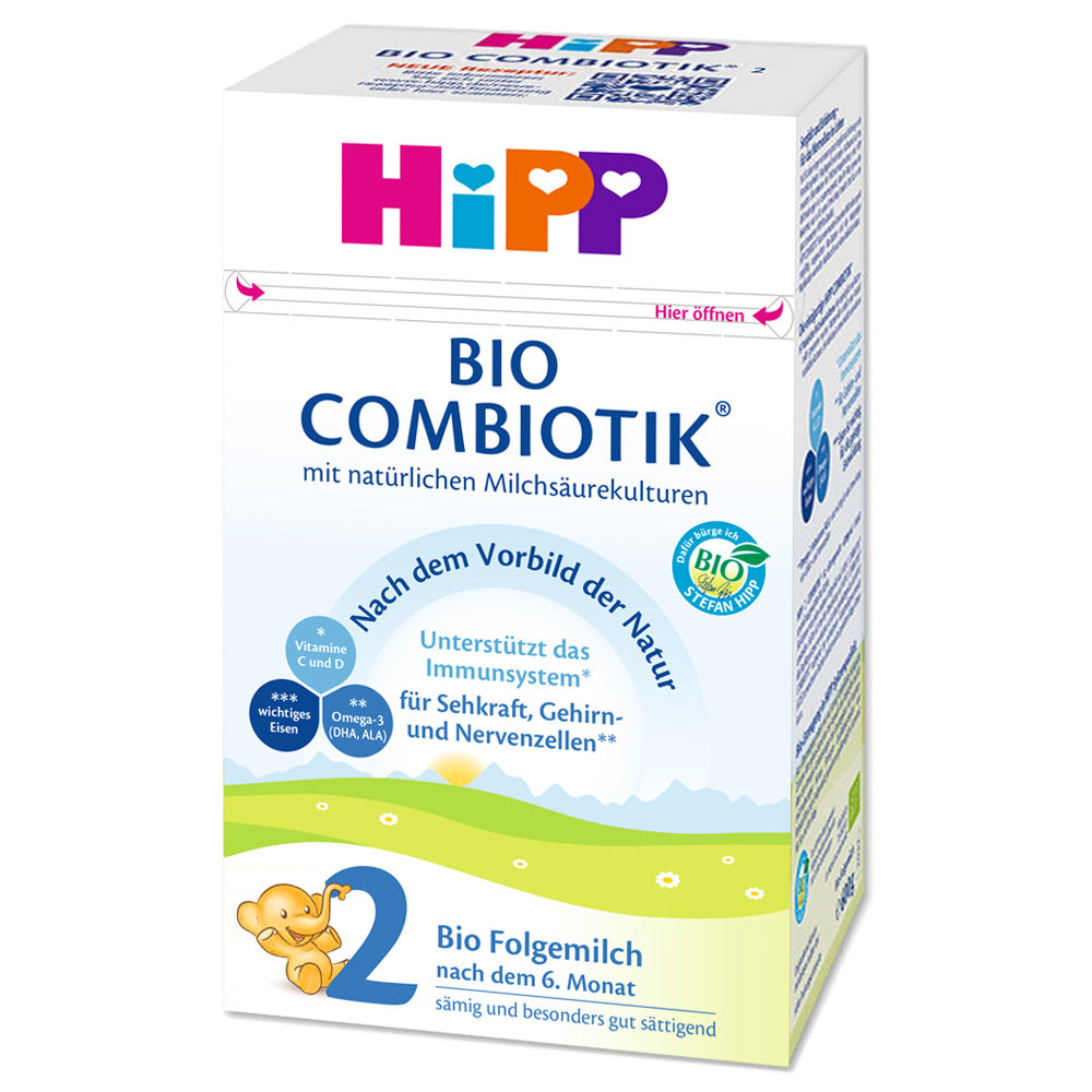 HiPP Stage 2 Organic BIO Combiotik Follow-On Formula (600g) - German