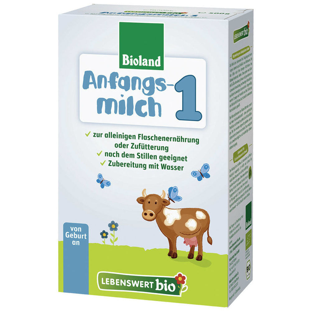 Lebenswert Stage 1 Organic Infant Milk Formula (500g)