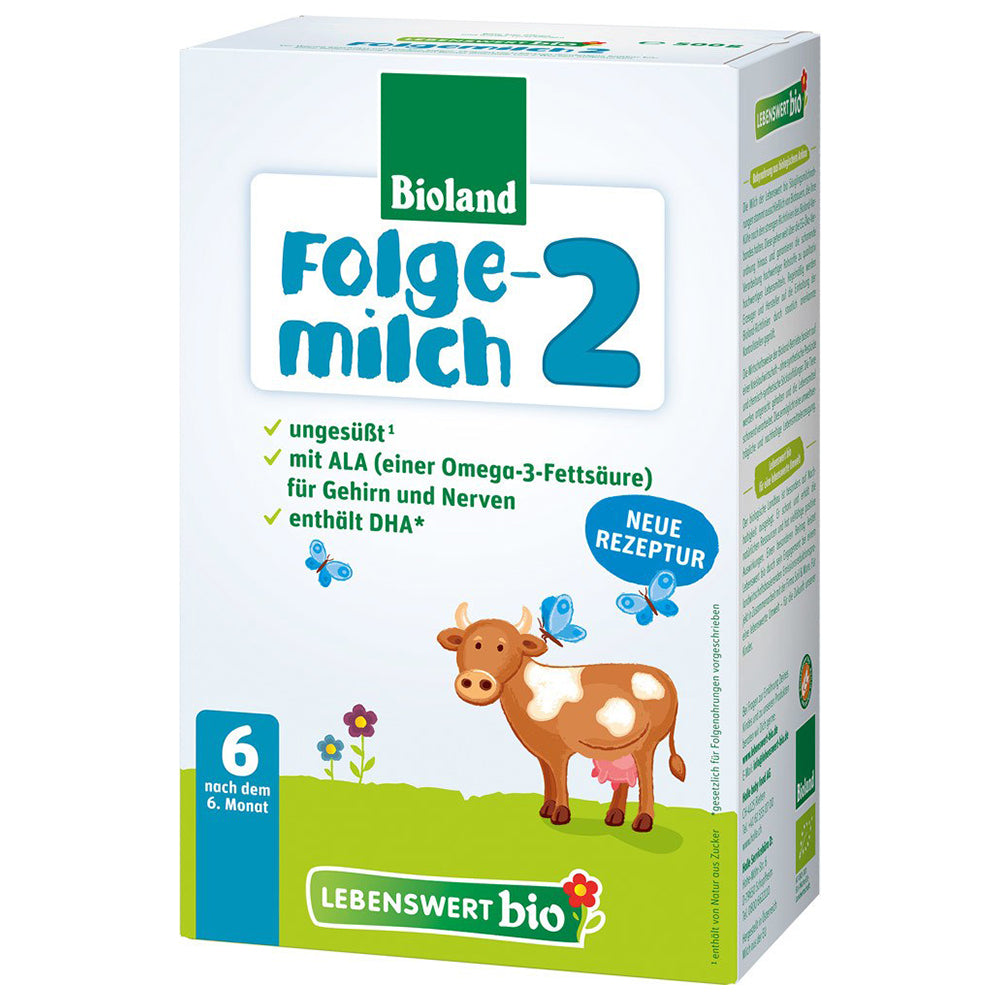 Lebenswert Stage 2 Organic Infant Milk Formula + DHA (500g)