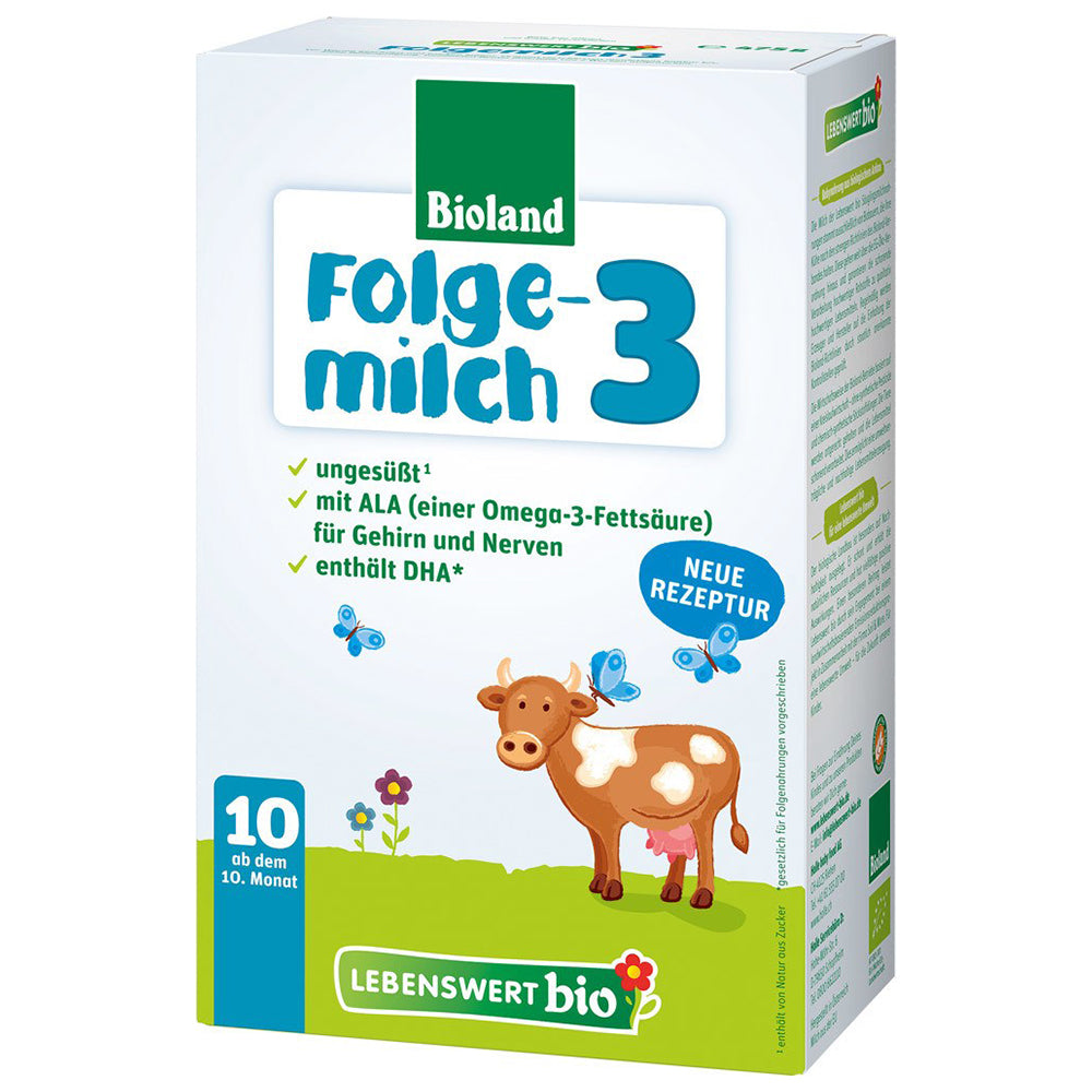Lebenswert Stage 3 Organic Infant Milk Formula + DHA (475g)