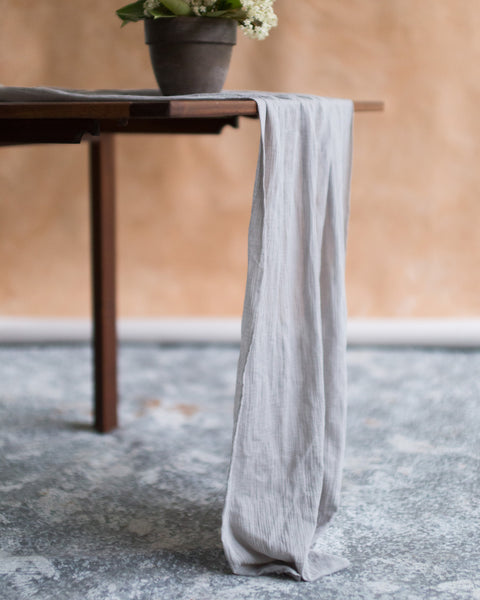 Raw Edge Table Runners