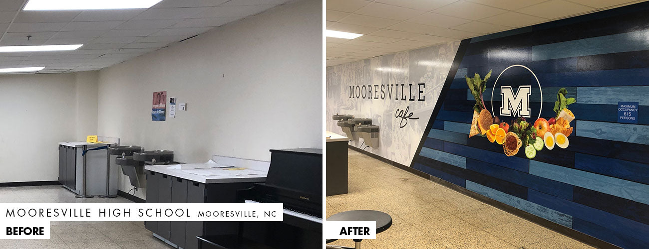 Mooresville Cafeteria Makeover