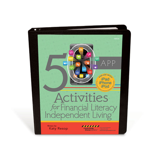 50 App Activities for Financial Literacy & Independent Living