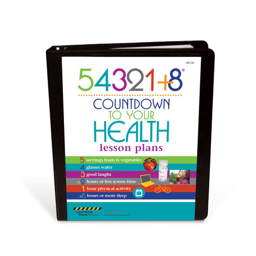 Live 54321+8® Countdown to Your Health Lesson Plans