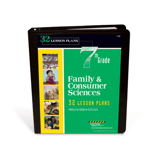 7th Grade Family & Consumer Sciences Lesson Plans