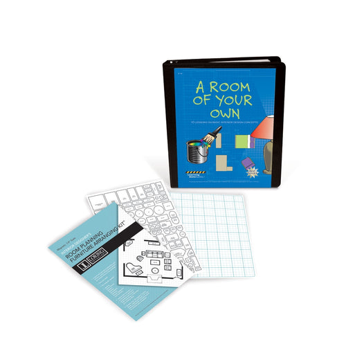 A Room/Home of Your Own Lesson Plans & Magnetic Floorplan Template