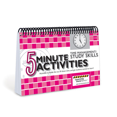 5 Minute Time Management / Study Skills Activities