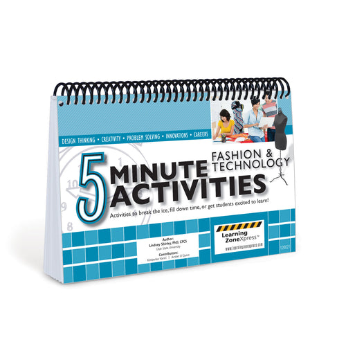 5 Minute Fashion & Technology Activities