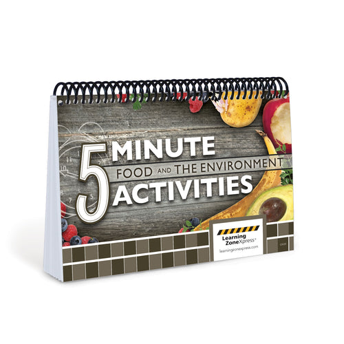 5 Minute Food and the Environment Activities