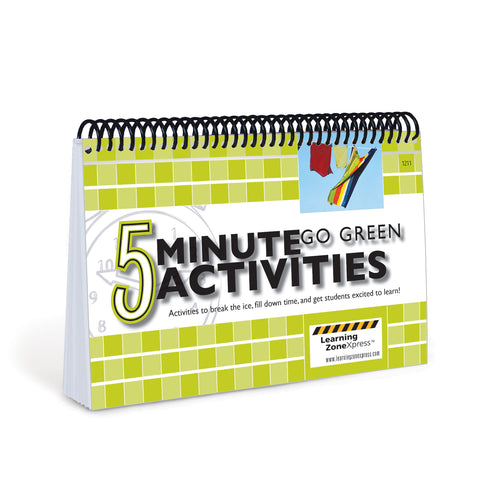 5 Minute Go Green Activities