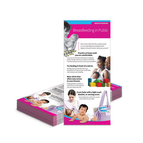 Breastfeeding Benefits Education Cards