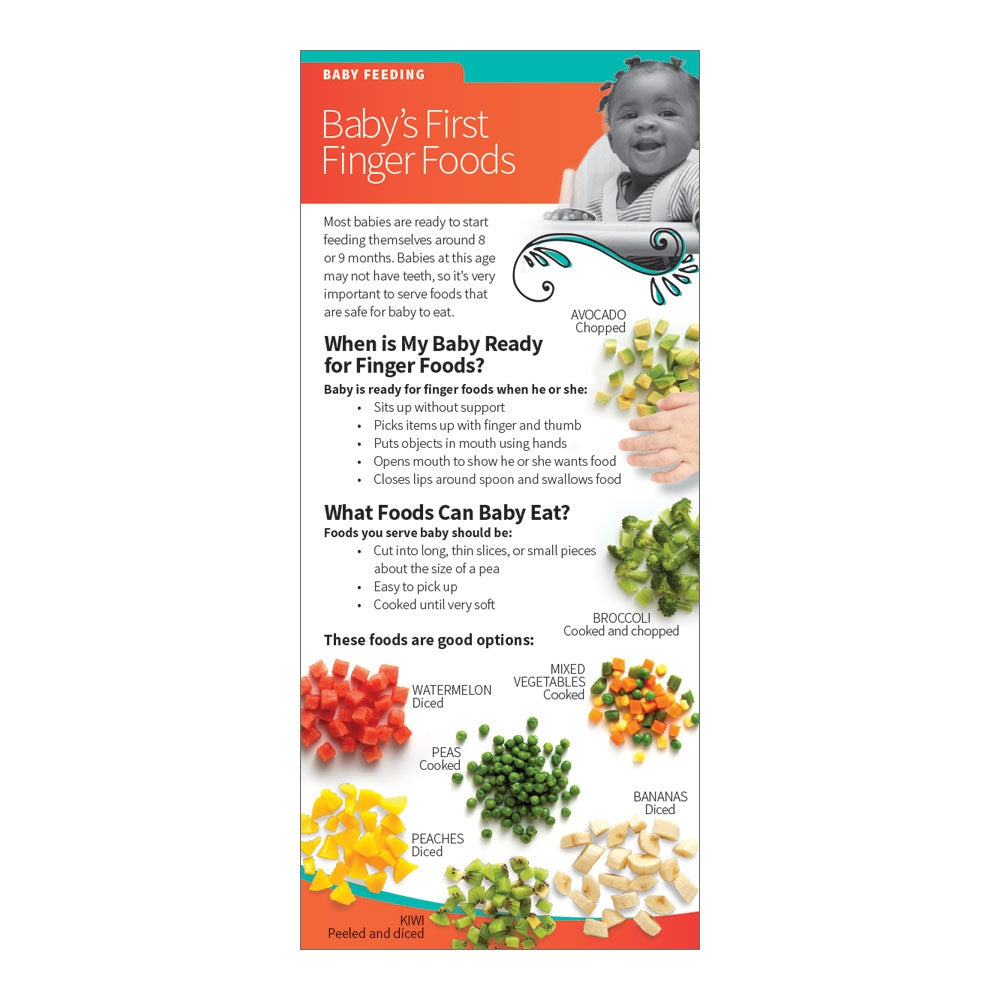 Baby's First Finger Foods Education Cards
