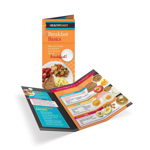 Breakfast Basics Tri-Fold Brochures