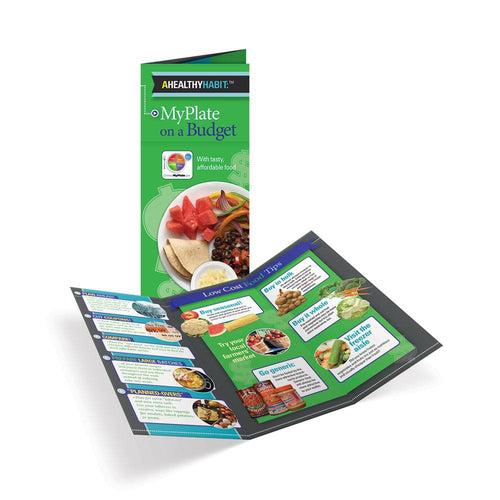MyPlate On a Budget Tri-Fold Brochures