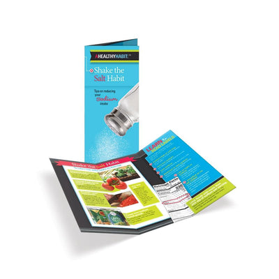 Shake the Salt Habit Tri-Fold Brochures