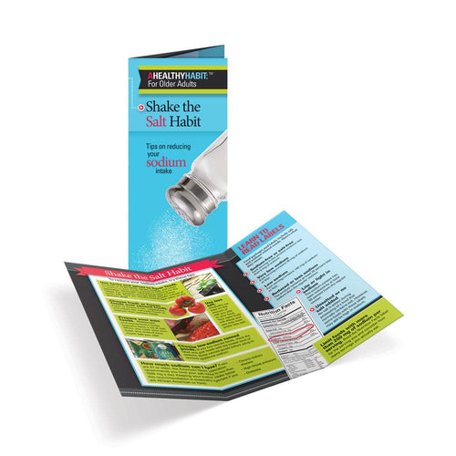 Shake the Salt Habit for Older Adults Tri-Fold Brochures