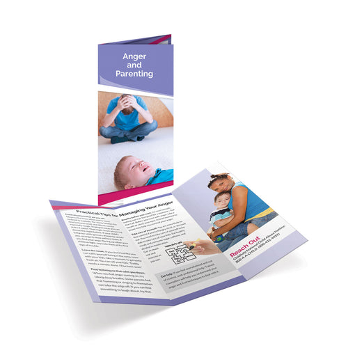 Anger and Parenting Tri-Fold Brochures