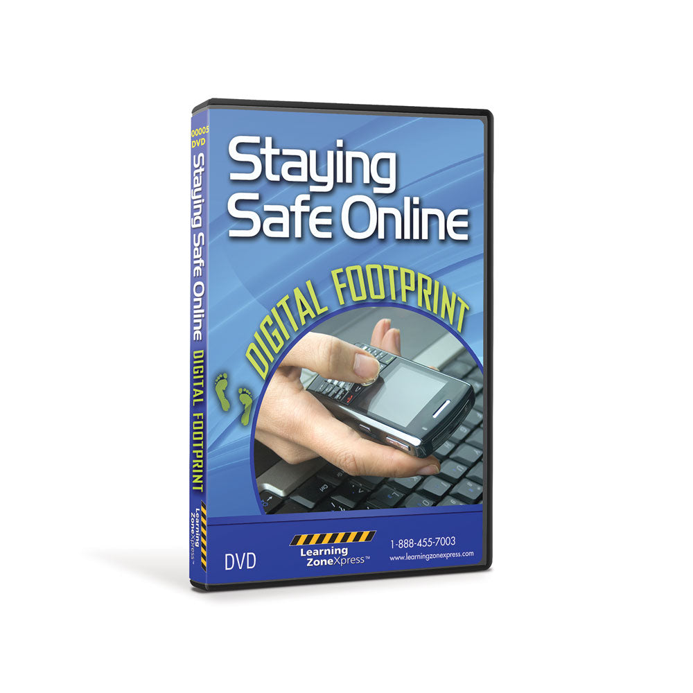 Staying Safe Online: Digital Footprint DVD and Activity Packet