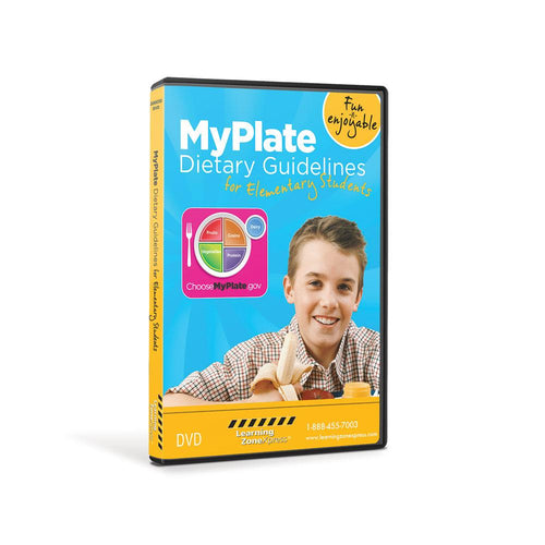 MyPlate Dietary Guidelines for Elementary Students DVD