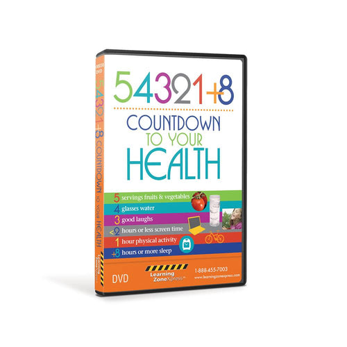 54321+8® Count Down to Your Health DVD