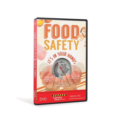 Food Safety:  It's in Your Hands DVD