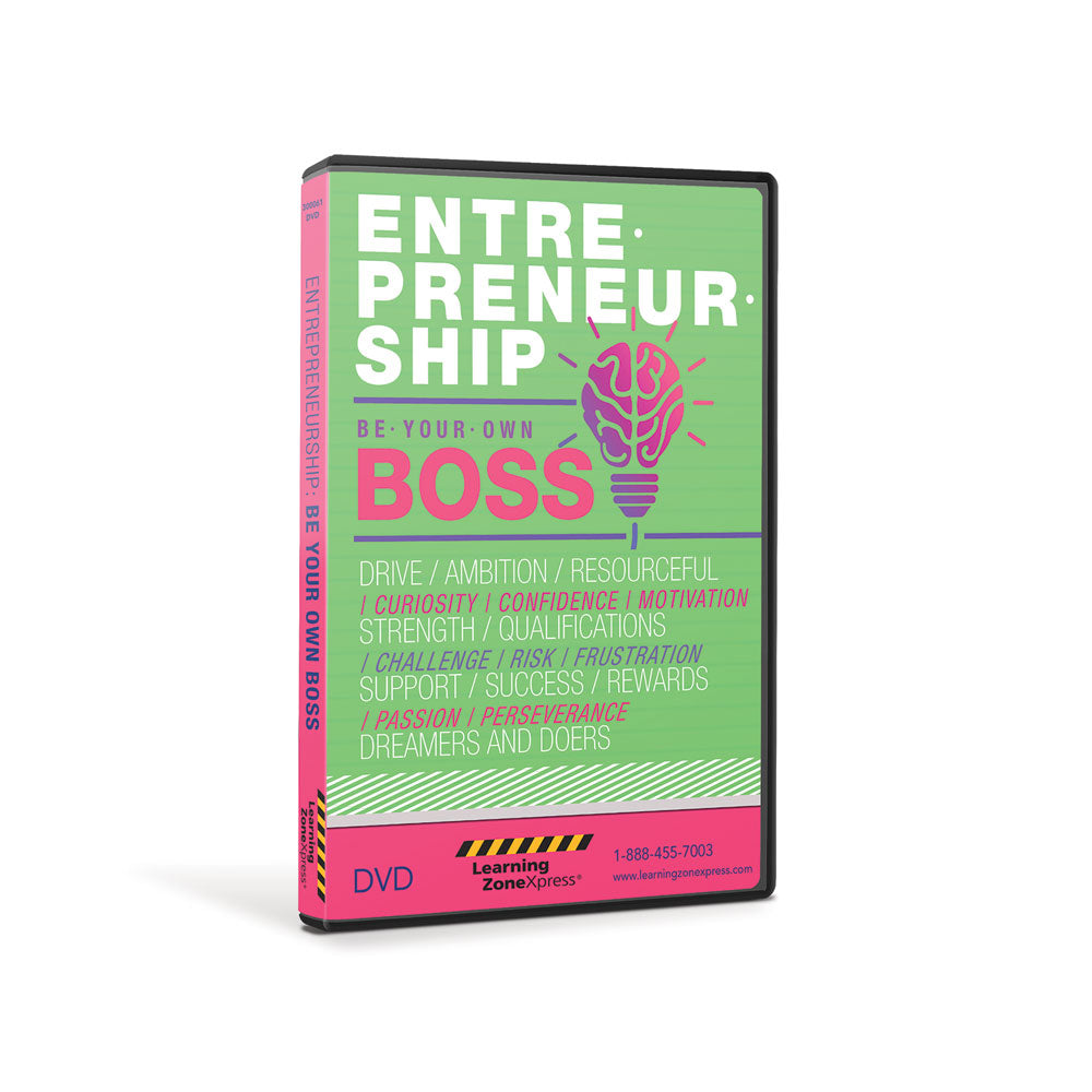 Entrepreneurship:  Be Your Own Boss DVD