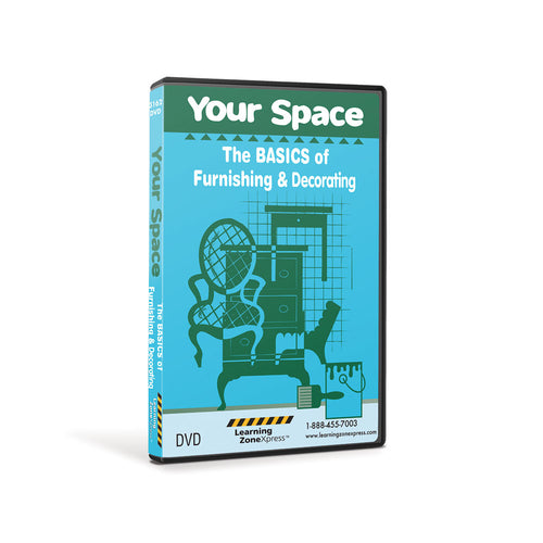 Your Space: The BASICS of Furnishing & Decorating DVD