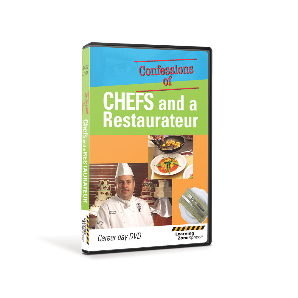 Confessions of a Chef   DVD