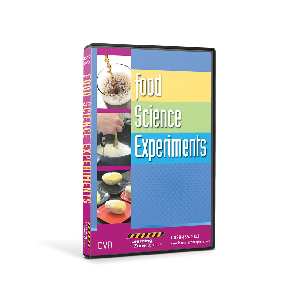 Food Science Experiments DVD