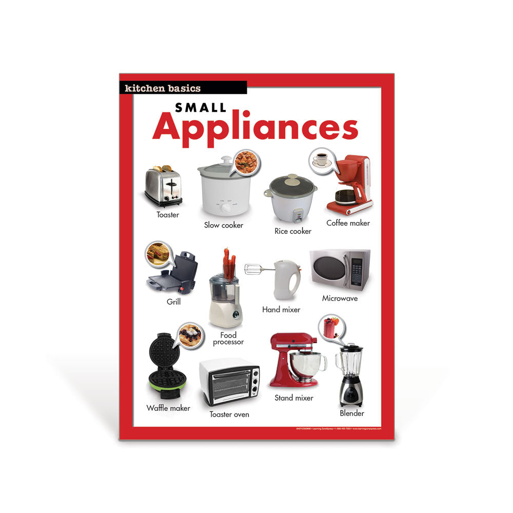 Small Appliances Poster