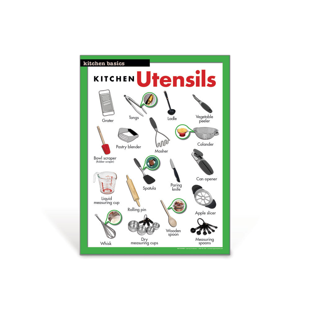 Kitchen Utensils Poster