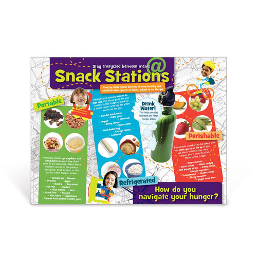 Snack Stations Poster