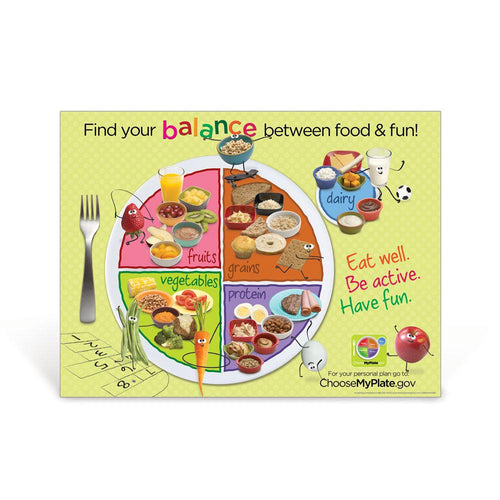 Kids MyPlate Poster