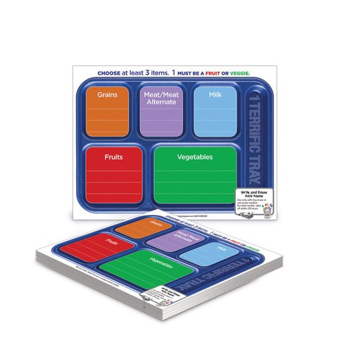 1 Terrific Tray™ Mini Dry Erase Menu Cards