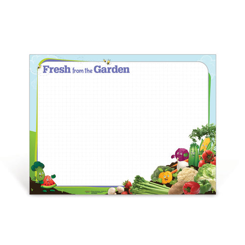 Fresh from the Garden Dry Erase Poster
