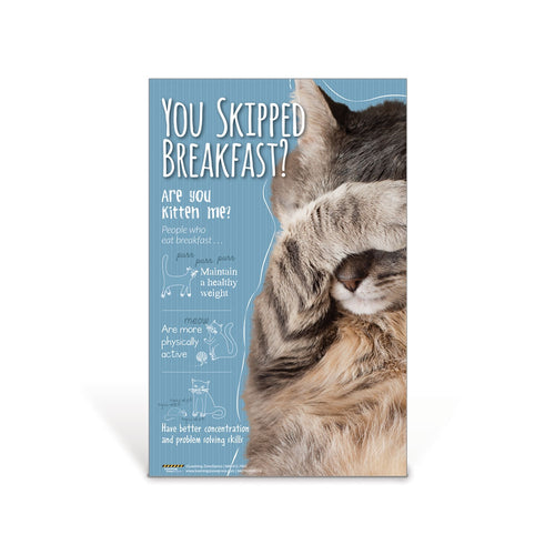 Kitten Me Cat Nutrition Poster