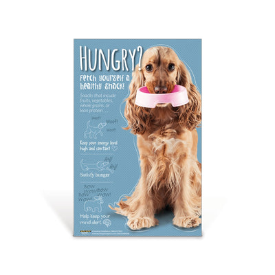 Hungry Dog Nutrition Poster
